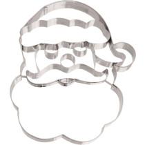 Lebkuchen Ausstecher XXL Weihnachtsmann Gesicht