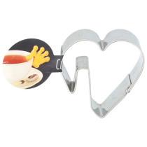Tassenkekse Herz, 5 cm