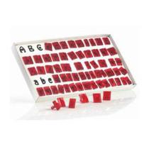 Fondant Ausstecher Alphabet Set, 64-teilig