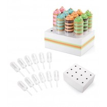Push Up Cake Pops Halter, 12 Stück, mit Display