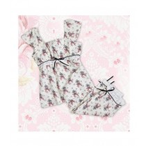 Knicker Pyjama Feather de Lis Größe Large
