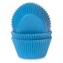 Muffinförmchen Cyanblau, 50 Stück