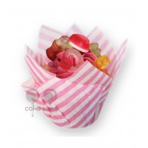 SK Muffin Wraps Candy Striped, 50 Stück