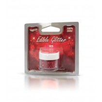 RD Edible Glitter Red