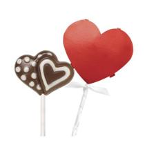 Lollipop Pocket Kits Red Heart, 8 Stück