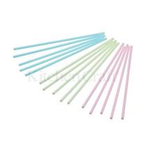 Kunststoff Lollipop Sticks Pastell 15,0 cm, 60 Stück