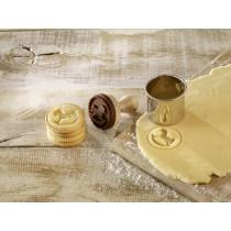 Cookie- Keksstempel Schaukelpferd, 5cm
