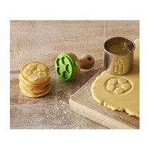 Cookie- Keksstempel Mini Fussball, 5cm