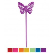 Kunststoff Bunte Schmetterling Pix, 14 Stück