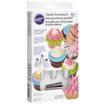 Cupcake Dekorations Set, 12-teilig