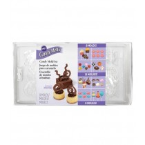 Pralinenform Mix Party Pack, 8 Formen