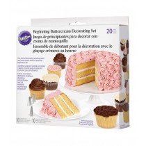 Buttercream Basic Decorating, 20-teilig