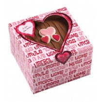 Treat Box Heart Words, 3 Stück