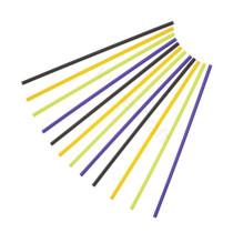 Kunststoff Lollipop Sticks Crazy Bunt 15,0 cm, 60 Stück