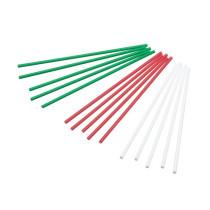 Kunststoff Lollipop Sticks X-Mas Bunt 15,0 cm, 60 Stück