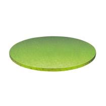 Stabile Runde Tortenunterlage Hellgrün, 30cm