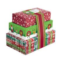 Geschenkverpackungen Mix, 3 Stück