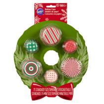 Muffinförmchen klein & gross Kranz Set, 150 Stück