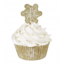 Muffinförmchen Sparkle & Cheer, 24 Stück