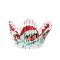 Muffinförmchen klein Tulip Santa, 48 Stück