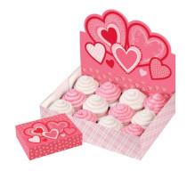 Cupcake Display Heart