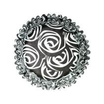 Muffinförmchen Schwarze Rose, 54 Stück