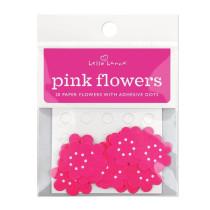 Pinkfarbene Wunschblümchen, 20 Stück