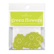 Hellgrüne Wunschblümchen, 20 Stück