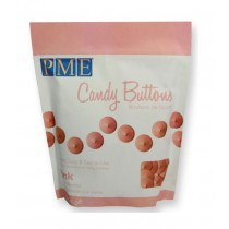 Candy Buttons Pink, 340g