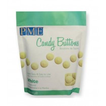 Candy Buttons White Vanille, 340g