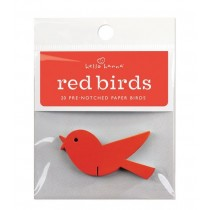 Rote Wunschvögelchen, 20 Stück