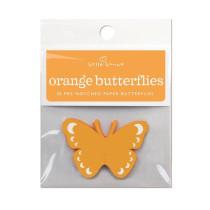 Orangene Schmetterlinge, 20 Stück