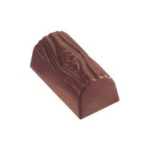 Pralinen- Schokoform Holzklotz aus Polycarbonate