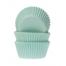 Muffinförmchen klein Mint, 60 Stück