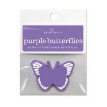 Lila Schmetterlinge, 20 Stück