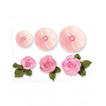 Easy Rose Cutter, 3-teilig
