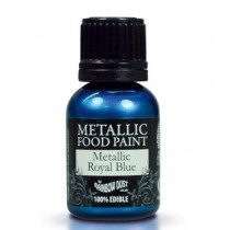 RD Metallic Food Paint Metallic Royal Blue