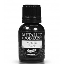 RD Metallic Food Paint Metallic Black/Schwarz