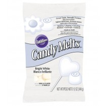 Candy Melts®, 340g Bright White, 340g - MHD 06.01.2019