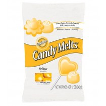 Candy Melts®, 340g Yellow, 340g - MHD 03.01.2019