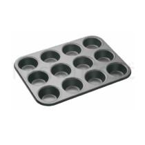 Master Class 12er Muffin- Backform, Antihaft-Karbonstahl