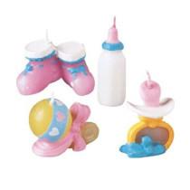 Kerzen Baby Set, 4 Stück