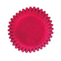 Pralinenförmchen Rot, 75 Stück