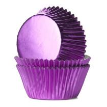 Muffinförmchen Metall Pink, 24 Stück