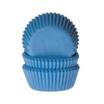 Muffinförmchen klein Himmelblau, 60 Stück