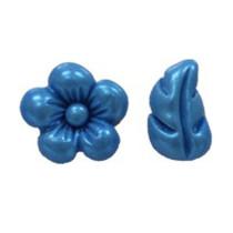 Fondant Silikonform kleine Blüten & Blätter
