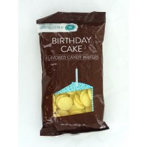 Candy Wafers, 340g Birthday Cake