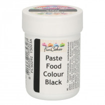 Funcakes FunColours Paste Food Colour - Black/Schwarz 30 g