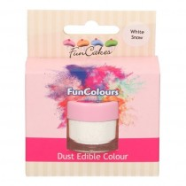 Dust Edible Colour - White Snow