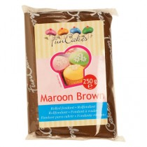 Fondant, 250g Maroon Brown